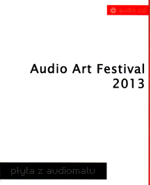 CD Audio Art 2013